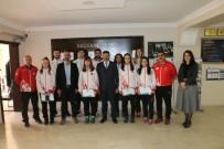 AVRUPA ŞAMPİYONU - Milli Sporcular Ödüllendirildi