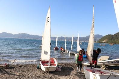 Minik Yelkenciler Sömestr Tatilini Kampta Geçiriyor Yapıyor