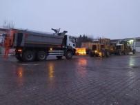 DAMPERLİ KAMYON - Nevşehir Belediyesi Karla Mücadele İçin Araç Filosunu Güçlendiriyor