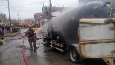 Peru'da Gaz Yüklü Tanker Patladı Açıklaması 2 Ölü, 50 Yaralı