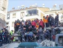 Arama kurtarma çalışmalarıyla 43 kişi enkazdan sağ çıkarıldı