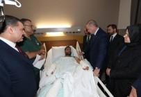 FETHİ SEKİN - Cumhurbaşkanı Erdoğan'dan Hastanedeki Depremzedelere Ziyaret