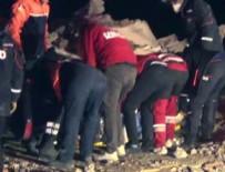 Enkaz altından bir kişi sağ kurtarıldı!