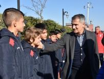 MEHMET ÖZKAN - Şenol Güneş'ten Genç Futbolculara Öğüt