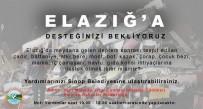 İÇ ÇAMAŞIRI - Sinop Belediyesinden Elazığ'a Yardım Eli