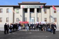 GÖNÜL ELÇİLERİ - Ağrı İbrahim Çeçen Üniversitesi Dayanışma Ekibi Avrupa Yolunda