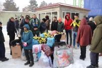 FETHIYESPOR - Ağrı Sporlu Taraftarlardan Elazığ'a Yardım