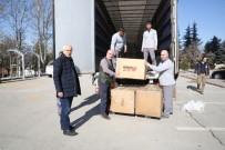 ANKARA VALİLİĞİ - ATO'nun Deprem Bölgesine Gönderdiği Yardım Tırları Yola Çıkmaya Başladı