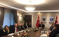 KıZıLCA - BTSO Başkanı Ateş Cumhurbaşkanlığı'nda Toplantıya Katıldı