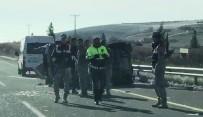 ASKERİ ARAÇ - Askeri Araç Devrildi Açıklaması 4 Yaralı