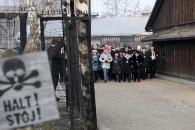 Auschwitz'da Katliamdan Kurtuluşun 75. Yılında Anma Töreni