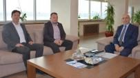 Bozcaada AK Parti İlçe Başkanından Rektör Prof. Dr. Sedat Murat'a Ziyaret
