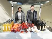 ORGANIK TARıM - Burhaniye'de Organik Ürünler İlgi Gördü