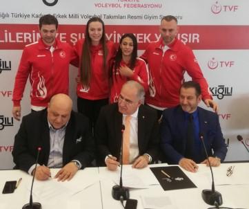 Erkek Ve Kadın Voleybol Milli Takımları'na Ortak Sponsor