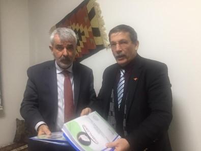 Milletvekili Sazak'a 'Katil Misina Ağlarla' İlgili 40 Sayfalık Rapor Ve Fotoğraf Sundu