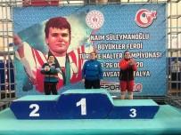 NAİM SÜLEYMANOĞLU - Naim Süleymanoğlu Halter Şampiyonası'nda Gaziantep Rüzgarı