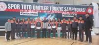 BEŞEVLER - Salihlili Judocu Türkiye Şampiyonu Oldu