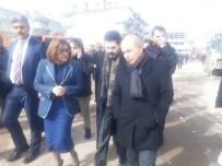 FATMA ŞAHIN - Başkan Akgün, Deprem Bölgesinde İncelemelerde Bulundu