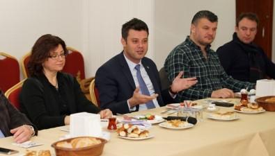 Başkan Sarıkurt Açıklaması 'Çorlu'nun Estetik Bir Görünüm Kazanması İçin Çalışıyoruz'