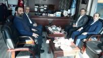 MUHAMMET FUAT TÜRKMAN - Genel Sekreter Türkman'dan Başkan Ensari'ye Ziyaret