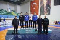 GÜREŞ - Kayserili Pehlivanlar Samsun'dan Madalyalarla Döndü