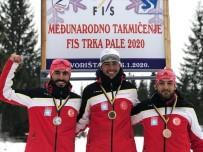 GÜMÜŞ MADALYA - Vanlı Kayakçı Balkan İkincisi Oldu