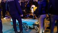 TURAN YıLMAZ - Aracın Çarptığı Engelli Vatandaş Yaralandı