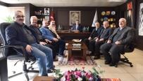 BÜLENT ÖZ - Başkan Öz, STK Temsilcileriyle Aylık Toplantısını Gerçekleştirdi