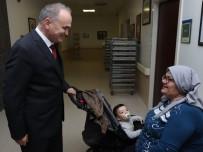 FARUK ÖZLÜ - Başkan Özlü Hastaları Ziyaret Etti
