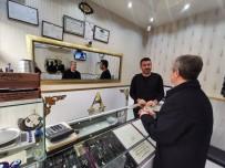 ORTAK AKIL - Başkan Tahmazoğlu Esnaf Ziyaretlerine Devam Ediyor