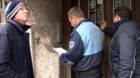 SULTANGAZİ BELEDİYESİ - Depremde Ağır Hasar Gördü, Mührü Kırıp Oturmaya Devam Ettiler