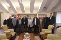 KAMİL GÜLER - Gazetecilerden Emniyet Müdürü Selçuk Doğuş'a Ziyaret