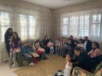 İlçe Kaymakamlardan Çocuk Evlerine Ziyaret