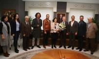 MİMARLAR ODASI - Mimarlardan Başkan Erdem'e Ziyaret