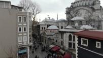 FATİH BELEDİYESİ - Nuruosmaniye Camisi'nin Duvarında İs Oluşturan İş Yerine Ceza