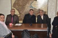 ATEŞ ÇEMBERİ - Başkan Koca'dan  Muhtarlar Derneğine Ziyaret