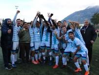 KAYHAN - Genç Erkekler Futbolda Spor Lisesi Şampiyon