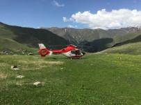 AMBULANS HELİKOPTER - Helikopter Ambulans 2019 Yılında 255 Hasta İçin Havalandı
