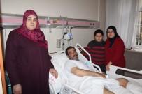 FıRAT ÜNIVERSITESI - Depremde Panikle Pencereden Atladı, İki Bacağını Kırdı