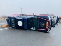 MEDİKAL KURTARMA - Depremden Dönen UMKE Ekibi Kaza Yaptı