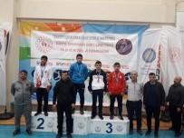 GÜREŞ - Hamza Korkmaz, İşitme Engelliler Güreş Şampiyonasında Türkiye Üçüncüsü