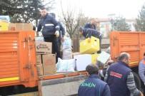 UĞUR YILDIRIM - Havza'dan Depremzedelere Yardım Eli