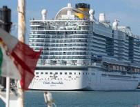 FINLANDIYA - İtalya'da koronavirüs şüphesiyle yolcu gemisi karantinaya alındı