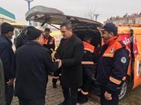 MEDİKAL KURTARMA - Mamak Belediyesi'nden Elazığ'a Yardım Tırı