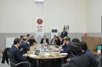 GAZIANTEP ÜNIVERSITESI - GSO-MEM'de Model Fabrika Değerlendirme Toplantısı