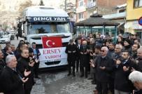 LÜTFI ELVAN - Karaman'dan Elazığ'a 9'Ncu Yardım Tırı Da Yola Çıktı
