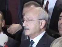 GÜNDOĞAN - Kılıçdaroğlu, açıklama yaptığı sırada deprem oldu
