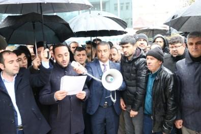 Siirt'te Vatandaşlar Kudüs İçin Toplandı