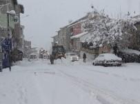 CANKURTARAN - Tunceli'de Kar Yağışı Etkili Oldu, 171 Köy Yolu Kapandı