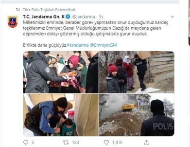 Türk Polis Teşkilatı Ve Jandarmadan Karşılıklı Jest Açıklaması 'Birlikte Daha Güçlüyüz'